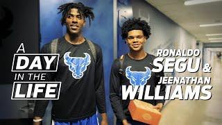 UB Men's Basketball Day in the Life: Ronaldo Segu & Jeenathan Williams