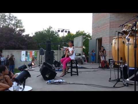 Ayanna Navarro at Elk Grove Community Event, Elk Grove CA