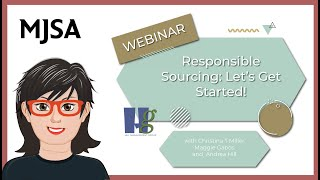 Responsible Sourcing —  Lets Get Started