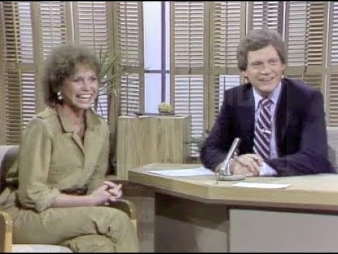 Mary Tyler Moore on The David Letterman Show, October 13, 1980