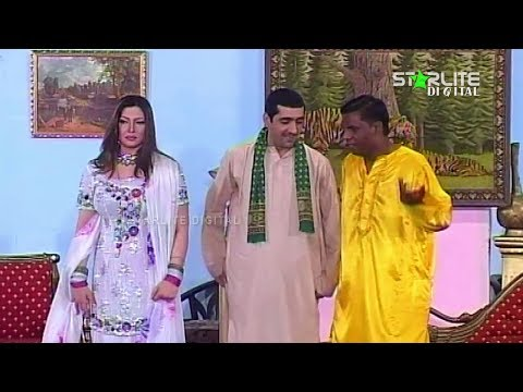 Muhabbat CNG 2 Amanat Chan and Nasir Chinyoti New Pakistani Stage Drama Full Comedy Funny Play