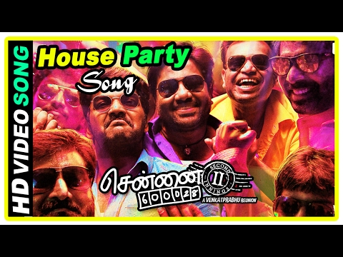 Chennai 600028 II Movie Scenes | House...