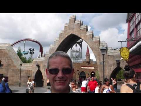 Our Florida holiday in September 2015 - a day at Universal Orlando resort