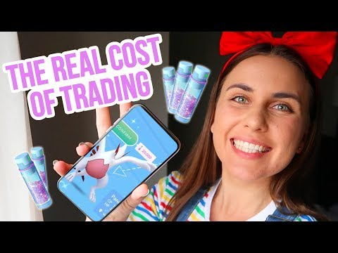 STARDUST COSTS FOR TRADING! Pokemon GO | ZoeTwoDots