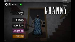 How To Use Skills | Roblox Granny - Jouyousapha98 Plays_RBLX (Update)