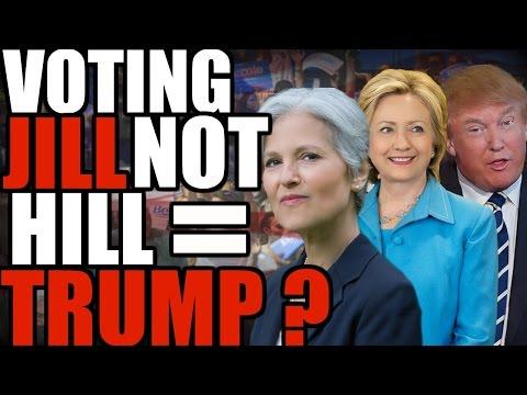 Voting Jill not Hill = Trump? | The Millennial Revolt