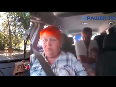 Ужасная бабка с хуем в жопе