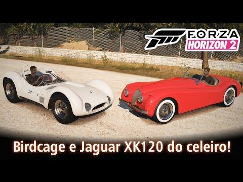 Birdcage e Jaguar XK120 do celeiro! | Forza Horizon 2 [PT-BR]