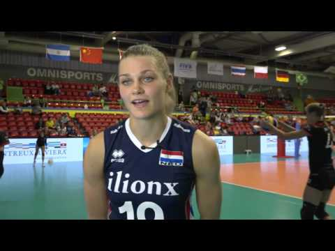 Day 2: Post-match interview with Netherlands' Nika Daalderop (English)
