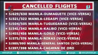 Class Suspension (August 15, 2015) at Cancelled Flights