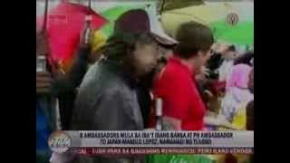 Amb. Manuel Lopez leads diplomatic visit to Tacloban on TV Patrol