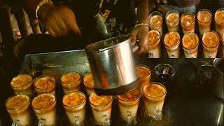 Special Creamy Tea / Milk Tea / Malai cha / Dudh cha /Street tea prepaired by a womam besides street