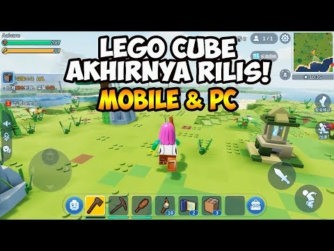 Game Mirip Minecraft Dari Tencent & Lego Akhirnya Rilis! LEGO CUBE (Android/iOS/PC) - 동영상