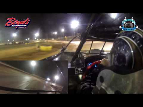 #148 Booger Brooks - Sportsman - 3-31-17 Boyd's Speedway - In-Car Camera