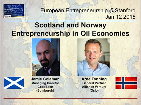 Scotland & Norway - CodeBase & Alliance Venture - Entrepreneurship in Oil Economies - Jan 12 2015