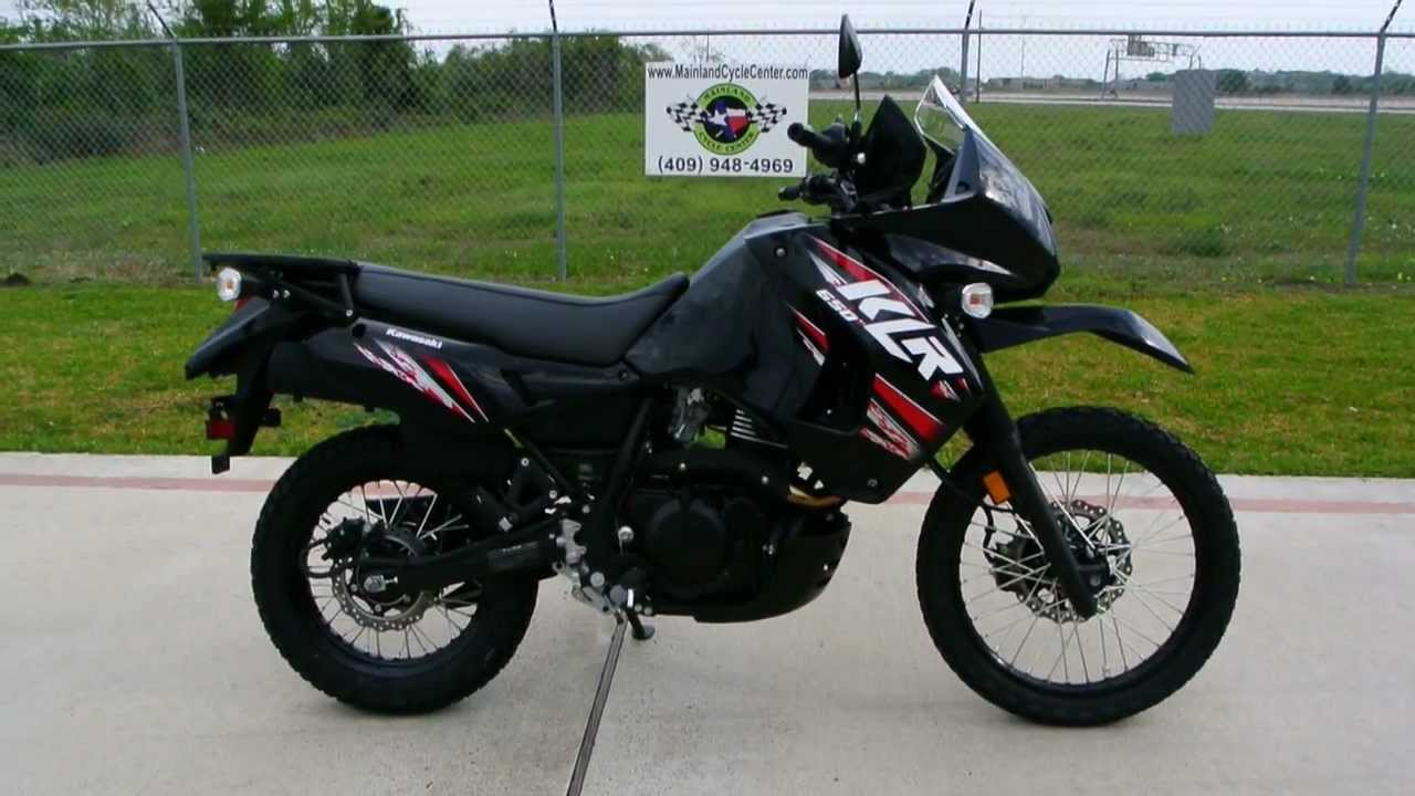 On Sale Now $5,499: 2013 Kawasaki KLR650 Black KLR 650 Ebony ...