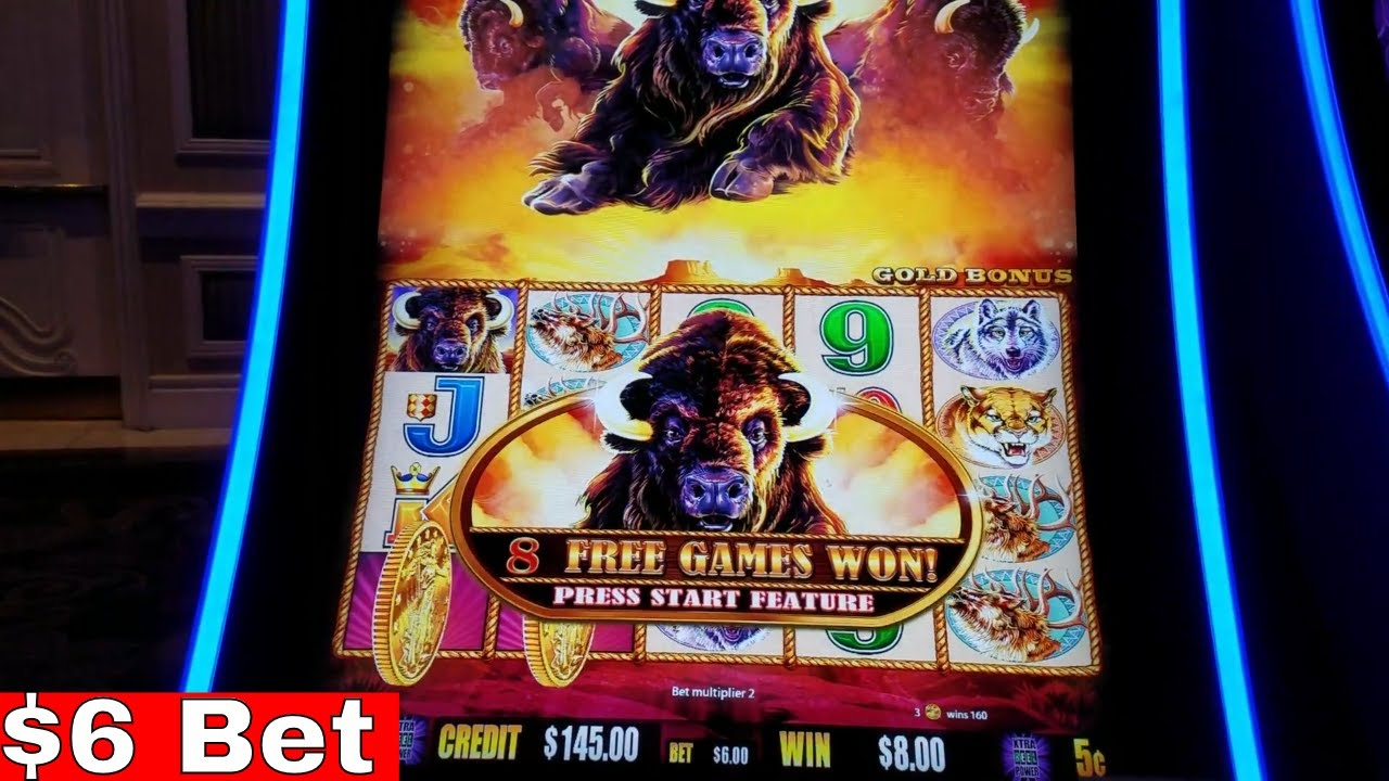 Buffalo Wild Slot Machine