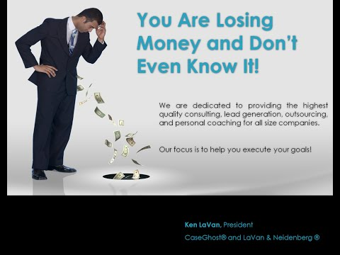 Webinar: You're Losing Money, & Don't Even Know It