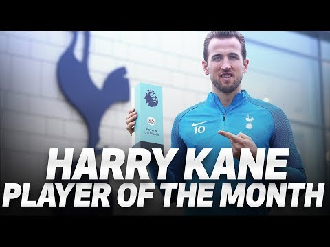 HARRY KANE WINS DECEMBER PLAYER OF THE MONTH