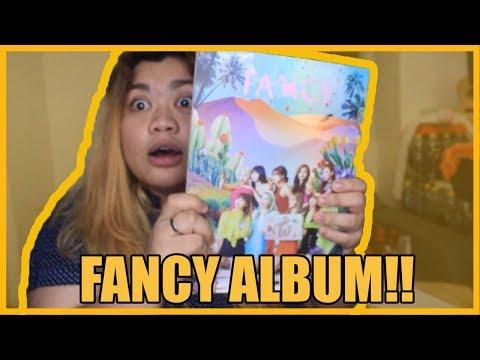 UNBOXING TWICE FANCY ALBUM!!!