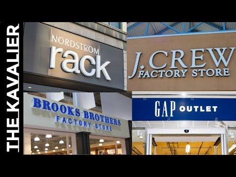 Those Outlet Stores You Love Are Ripping You Off & Killing Your Favorite Brands