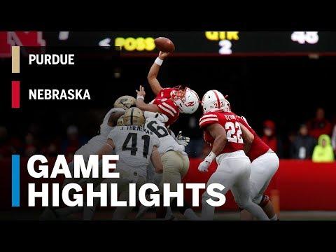 Highlights: Purdue Boilermakers vs. Nebraska Cornhuskers | Big Ten Football