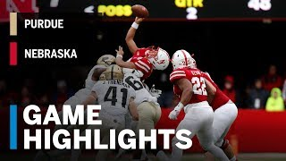 Highlights: Purdue Boilermakers vs. Nebraska Cornhuskers | Big Ten Football
