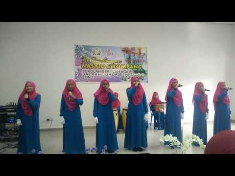 Johan pertandingan nasyid puteri zon 1 2016. (Sautun nisa') sekolah agama taman johor jaya