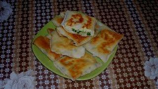 ☞Конвертики из лаваша с сыром, яйцами и зеленью