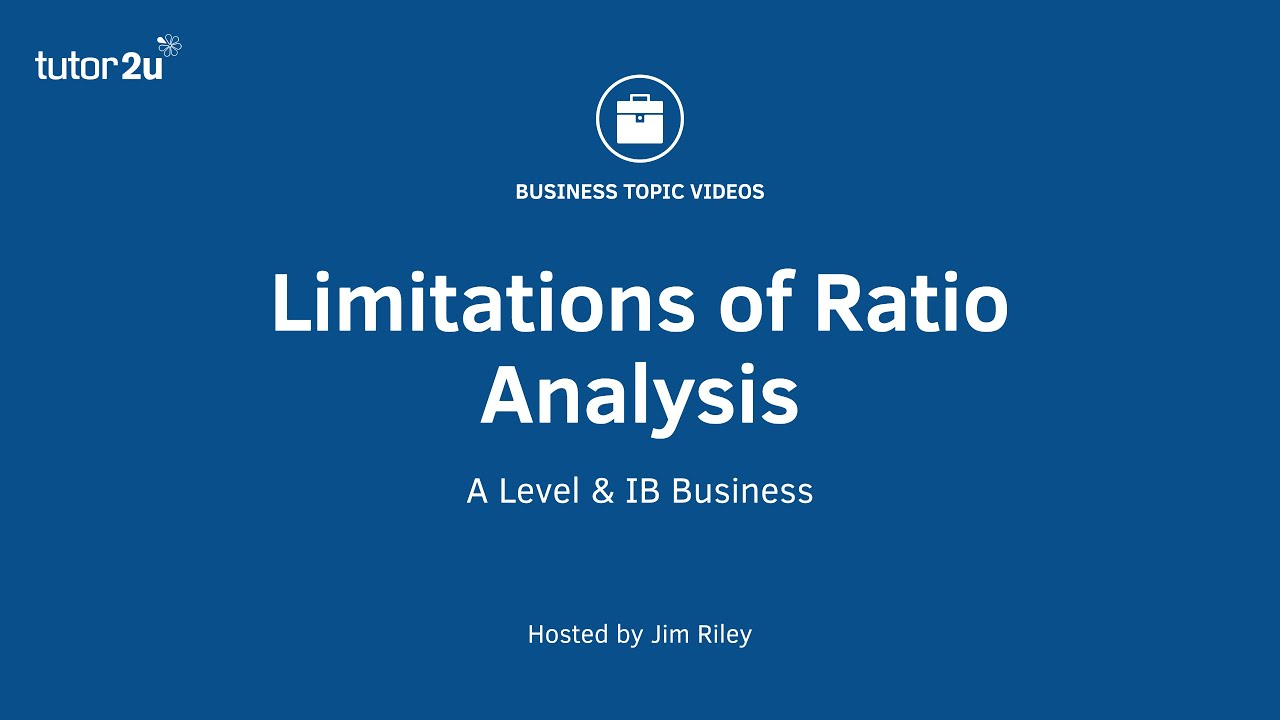 usefulness and limitations of financial ratios Cfa level 1 - uses and limitations of financial ratios discusses the limitations of financial ratio analysis learn how benchmarking financial ratios can increase.