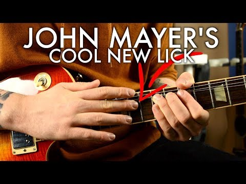 John Mayer's New Tapping Lick | I Guess I Just Feel Like