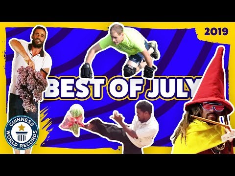 Best of July 2019 - Guinness World Records