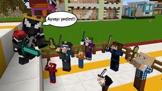 KRAL VENOM ZOR DURUMDA ÖRÜMCEK KÖYÜ AYAKLANDI - Minecraft Maceraları 140