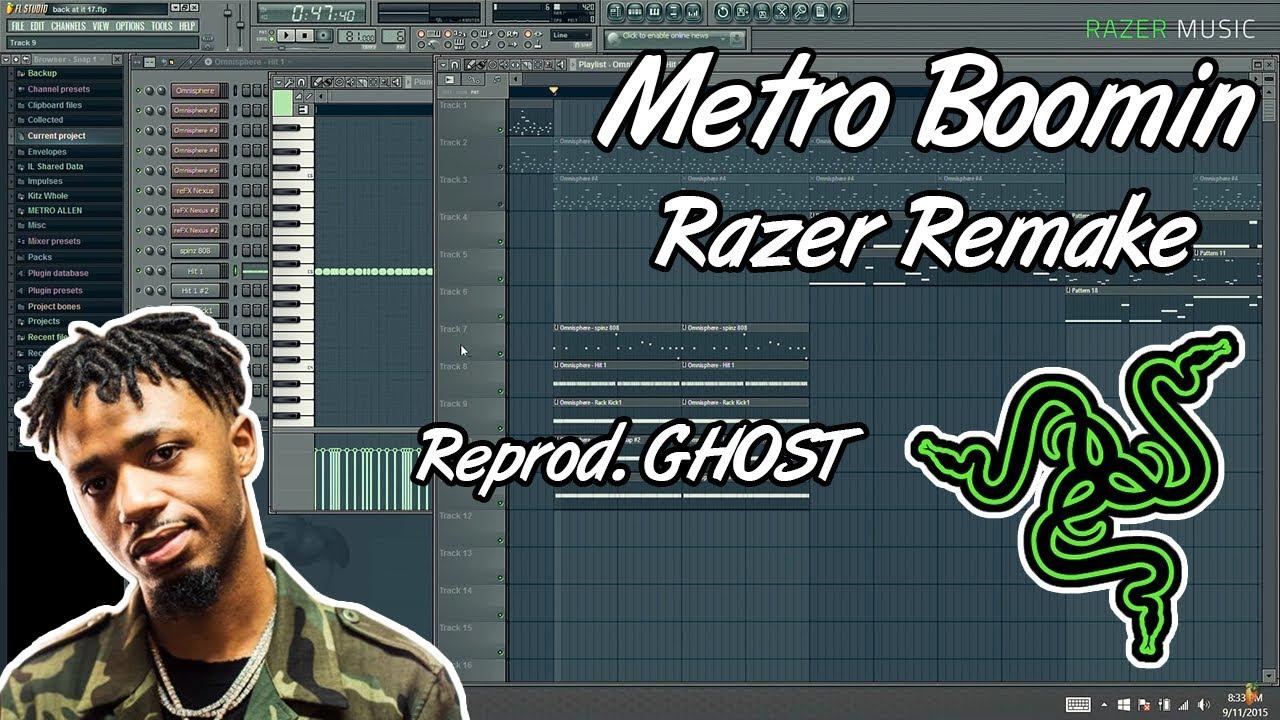 [FREE] 🔥Metro Boomin Razer - Instrumental - FLP - (Reprod. GHOST) #1