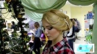 Свадебная прическа и макияж в Рязани(Красивая свадебная прическа и нежный макияж. Салон Гримерка в Рязани. Над созданием образа невесте трудили..., 2016-01-14T12:15:47.000Z)
