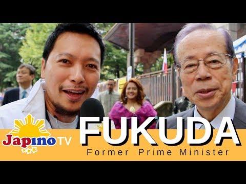 Former Prime Minister Sir Fukuda