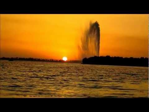 غروب شمس رائع في جدة Amazing Sunset In Jeddah Hd Youtube