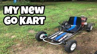 MY NEW GO KART!!! thumbnail