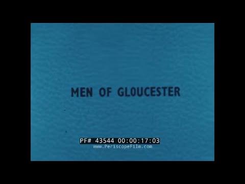 MEN OF GLOUCESTER MASSACHUSETTS  NEW ENGLAND FISHING INDUSTRY  1946 FORD MOTOR FILM  43544