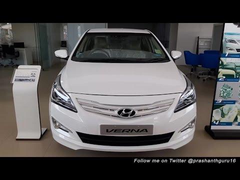 Hyundai Verna 2016 Walk around Review Prashanth Sridharan