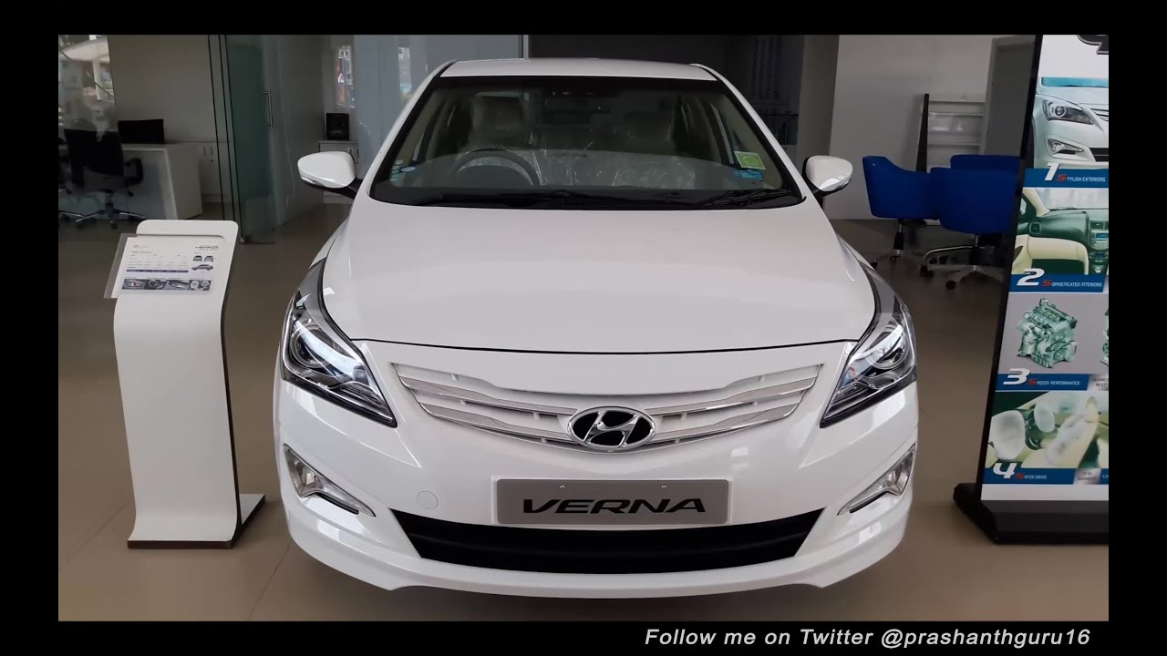 Hyundai Verna 2016 Walk Around Review