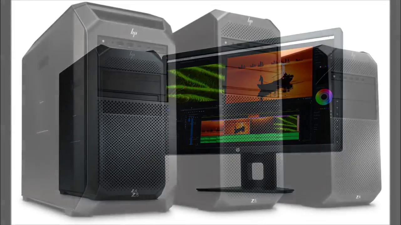 HP New Z Series Workstations | HP Z4 G4 Workstation | HP Z6 G4 Workstation  | HP Z8 G4 Workstation