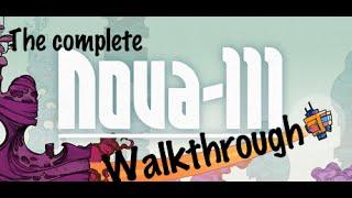 Nova 111 - The complete walkthrough