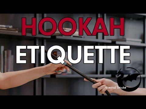 Hookahology – Etiquette