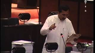 Parliament 2014 Budget Debate  of Sunil Handunnetti - 2013.11.22