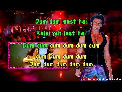 "Dum Dum (from ""Band Baaja Baaraat"") Instrumental / Karaoke with Lyrics [2010]"