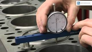 Measurement of piston protrusion - Motorservice Group