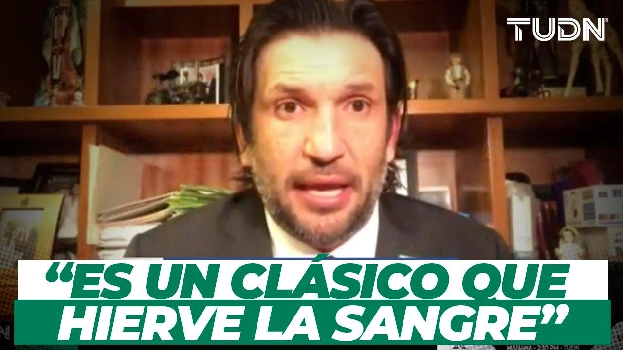 ¡Clásico Regio! 'Kikin' Fonseca habló sobre lo apasionado que es un Rayados vs Tigres | TUDN