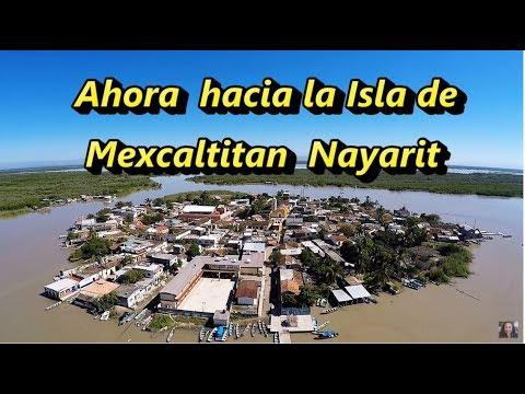 MEXCALTITAN NAYARIT Y EMBARCADERO LA BATANGA - Quinta Parte - Lorena Lara