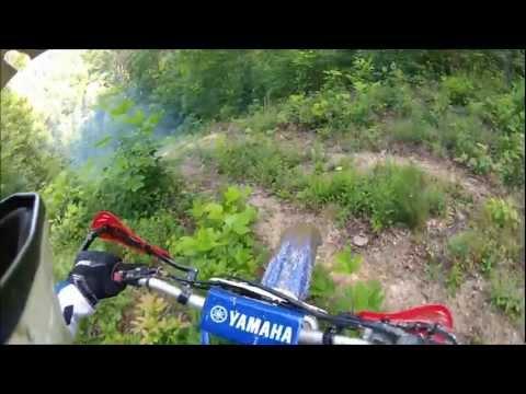 Kentucky dirt bike camping trip.